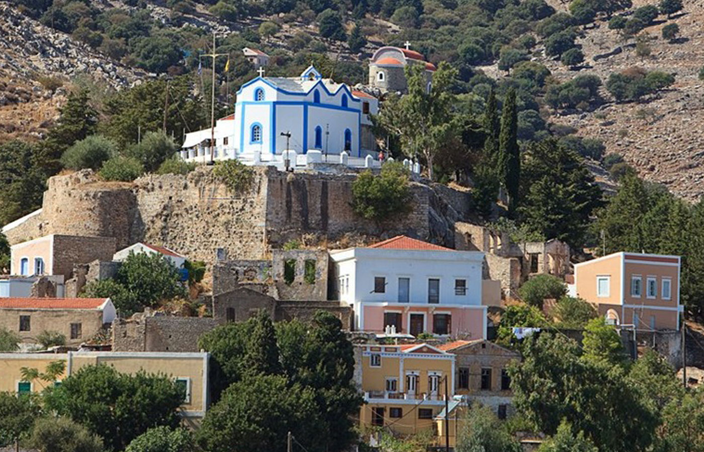 Symi Holidays Castle 4